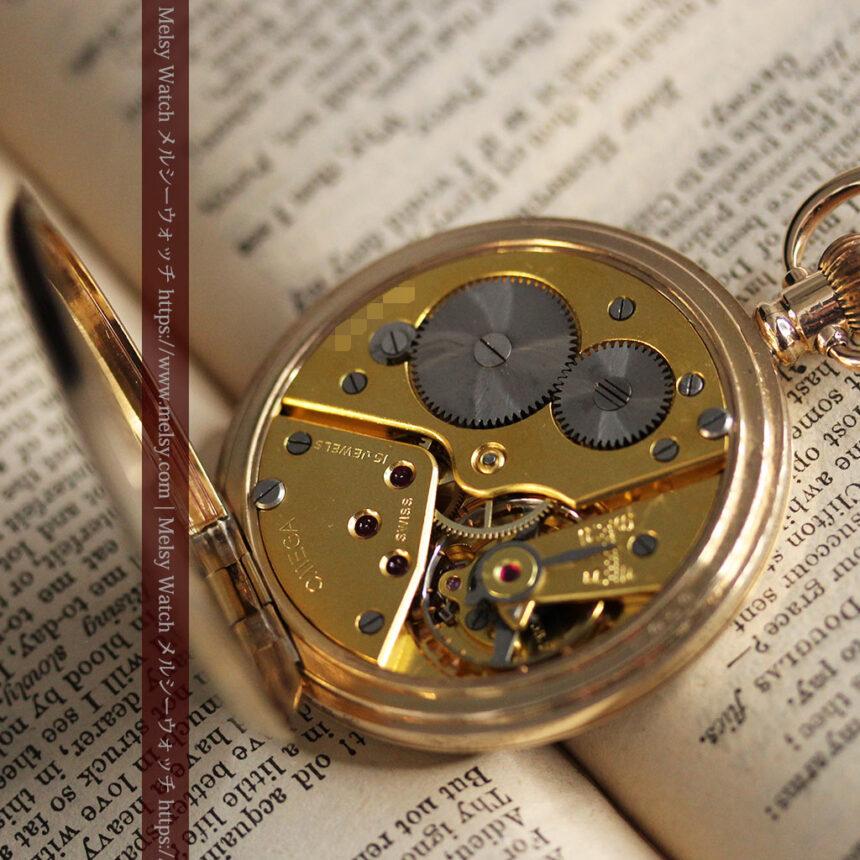 オメガの基本を押さえたアンティーク懐中時計 【1938年製】-P2275-16