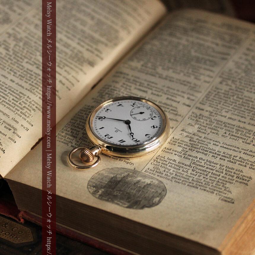 オメガの基本を押さえたアンティーク懐中時計 【1938年製】-P2275-2