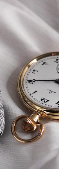 オメガの基本を押さえたアンティーク懐中時計 【1938年製】-P2275-6
