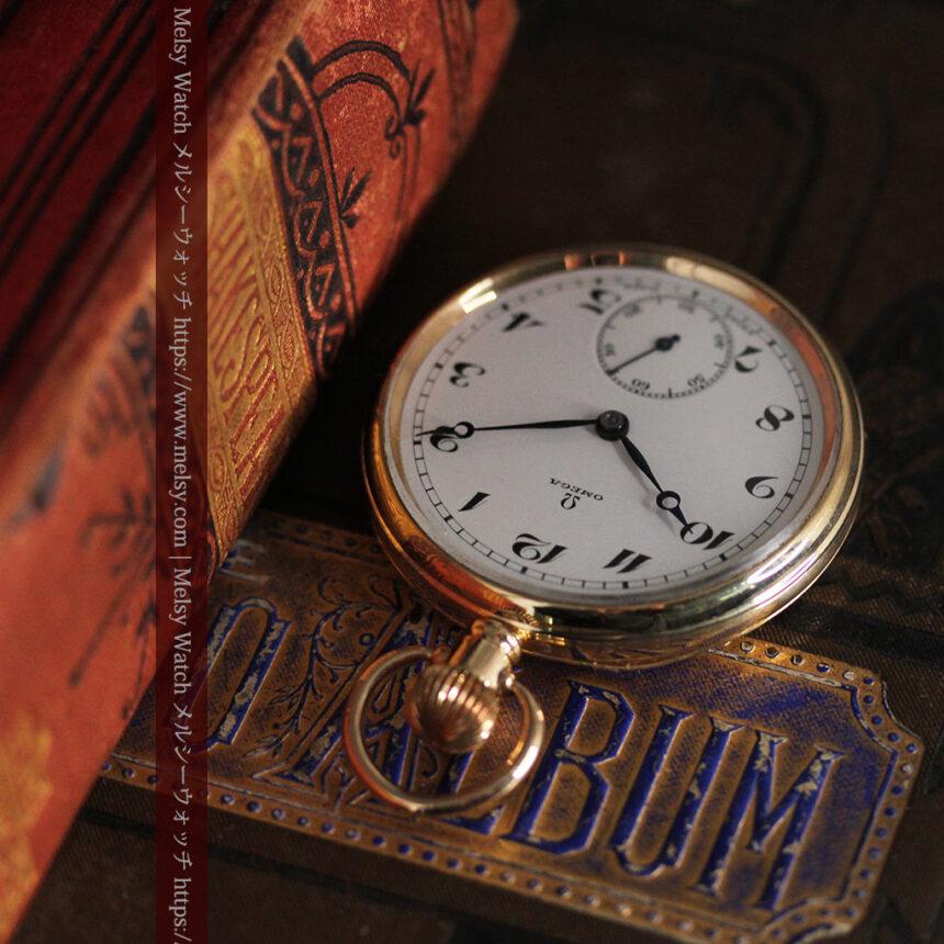 オメガの基本を押さえたアンティーク懐中時計 【1938年製】-P2275-7