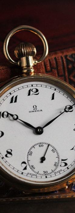 オメガの基本を押さえたアンティーク懐中時計 【1938年製】-P2275-8