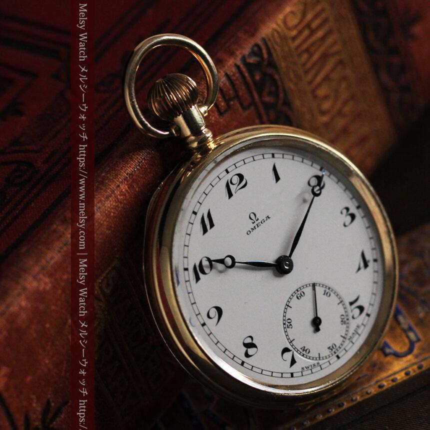 オメガの基本を押さえたアンティーク懐中時計 【1938年製】-P2275-9