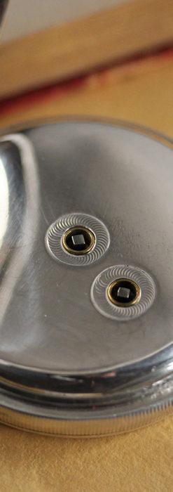 ベンソン 鍵巻き式銀無垢アンティーク懐中時計 【1888年頃】-P2279-16