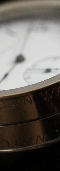 ウォルサムのスケルトン懐中時計と腕時計兼用バンド 【1900年頃】-P2291-9