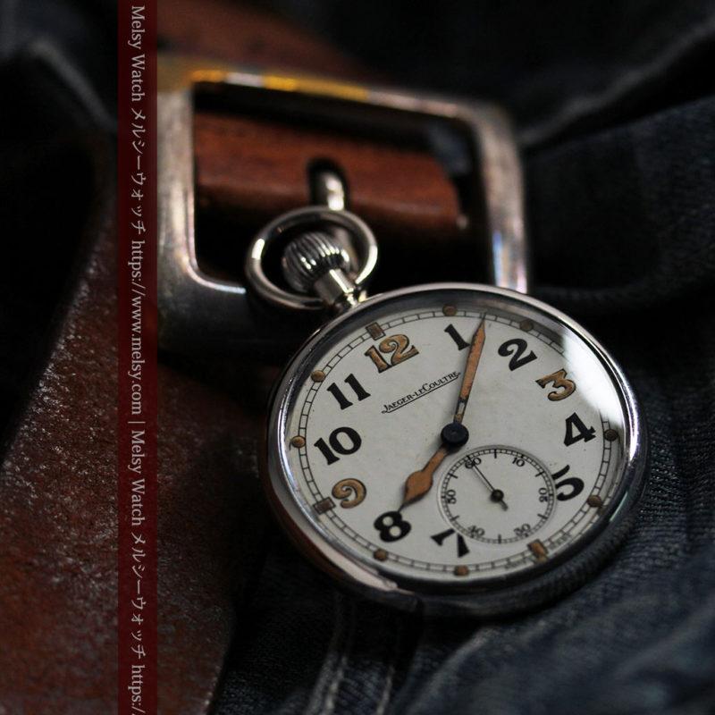 ジャガールクルト 英国陸軍のアンティーク懐中時計 【1940年頃】-P2292-1