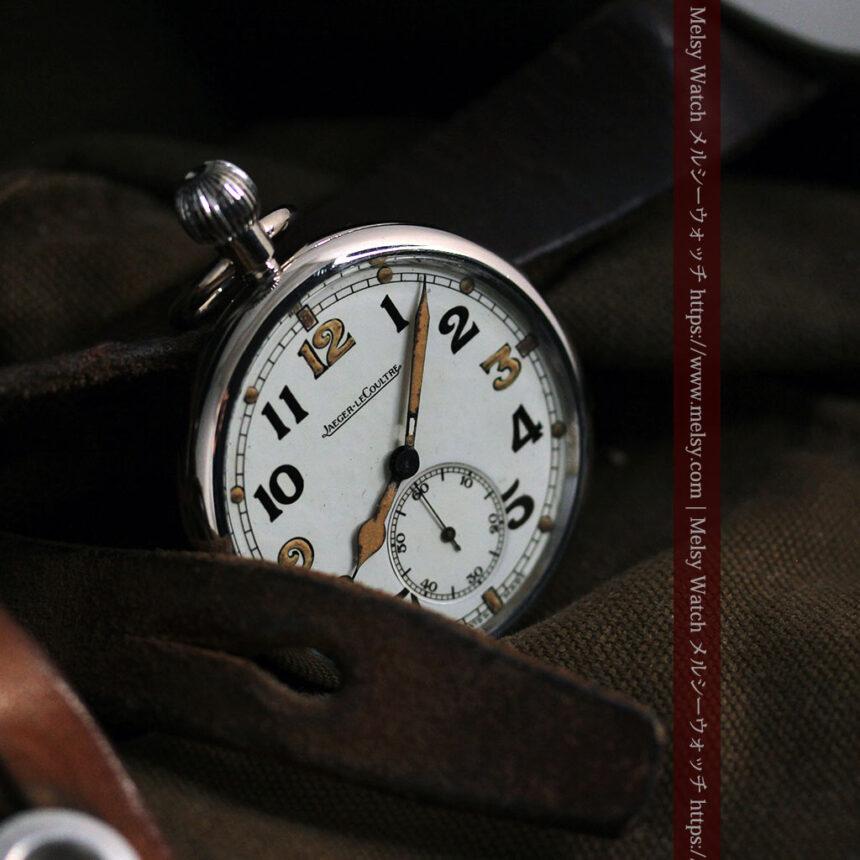 ジャガールクルト 英国陸軍のアンティーク懐中時計 【1940年頃】-P2292-10