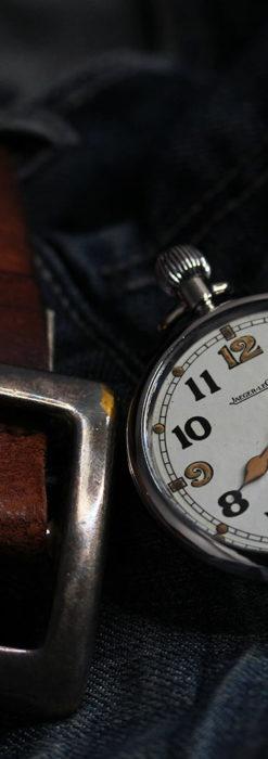 ジャガールクルト 英国陸軍のアンティーク懐中時計 【1940年頃】-P2292-12