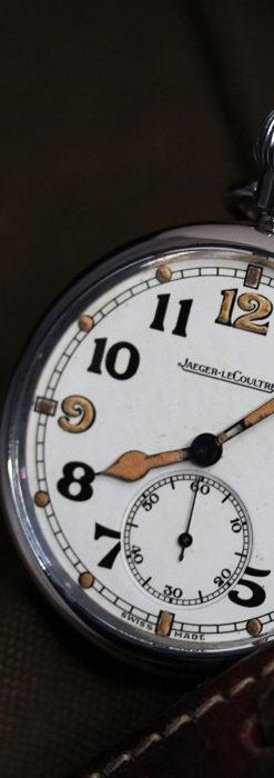 ジャガールクルト 英国陸軍のアンティーク懐中時計 【1940年頃】-P2292-15