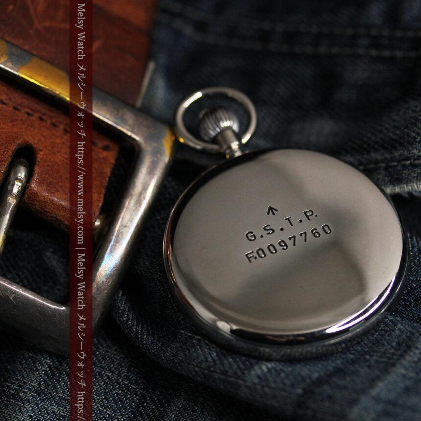 ジャガールクルト 英国陸軍のアンティーク懐中時計 【1940年頃】-P2292-2