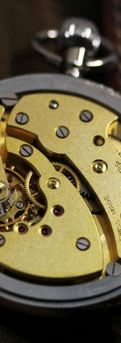 ジャガールクルト 英国陸軍のアンティーク懐中時計 【1940年頃】-P2292-20