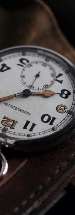 ジャガールクルト 英国陸軍のアンティーク懐中時計 【1940年頃】-P2292-5