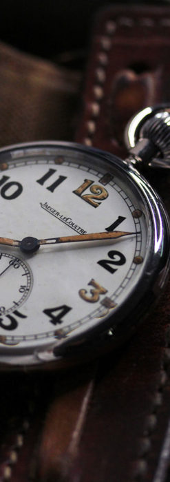 ジャガールクルト 英国陸軍のアンティーク懐中時計 【1940年頃】-P2292-6