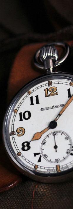 ジャガールクルト 英国陸軍のアンティーク懐中時計 【1940年頃】-P2292-9