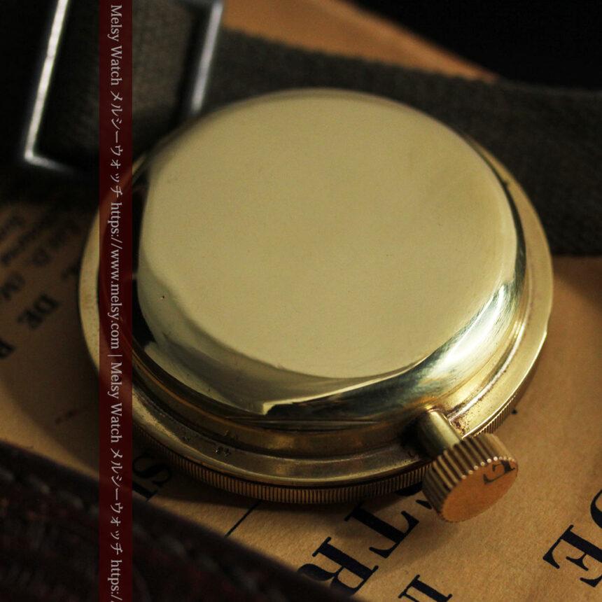 英国ベンソン 8日巻きの大型アンティーク懐中時計 【1920年頃】-P2294-18