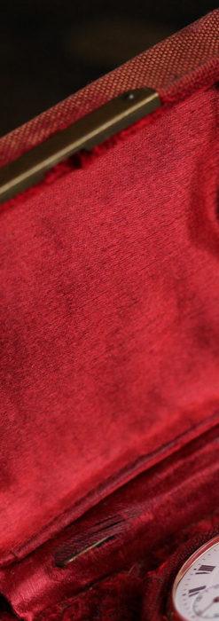 オメガ 彫りと装飾の美しい14金無垢アンティーク懐中時計 【1907年製】-P2296-15