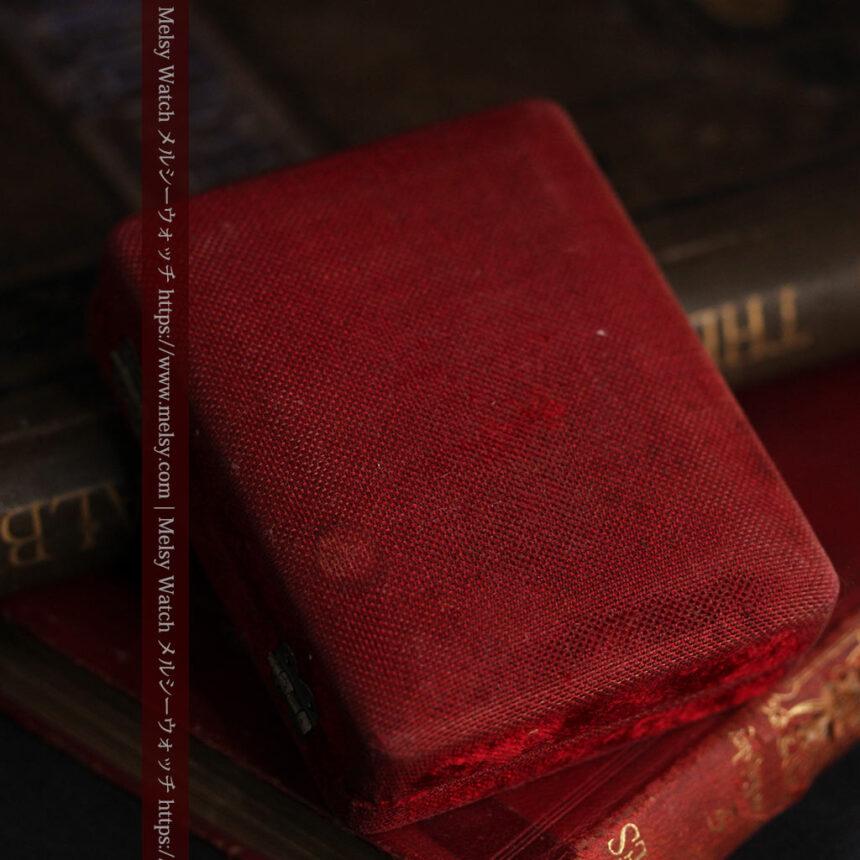 オメガ 彫りと装飾の美しい14金無垢アンティーク懐中時計 【1907年製】-P2296-16
