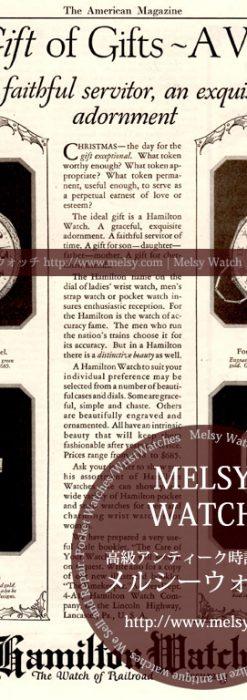 ハミルトン印刷物-M3169
