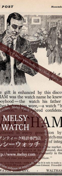 ウォルサムの広告1910年-M3212-1