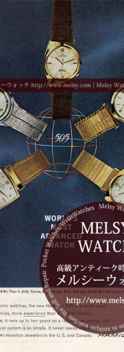 ハミルトンの広告-1962年