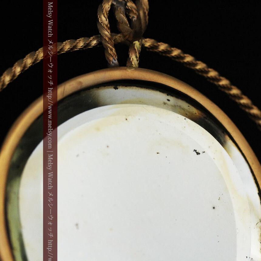 鏡とジュエリーケース付き懐中時計スタンド-S0828-17