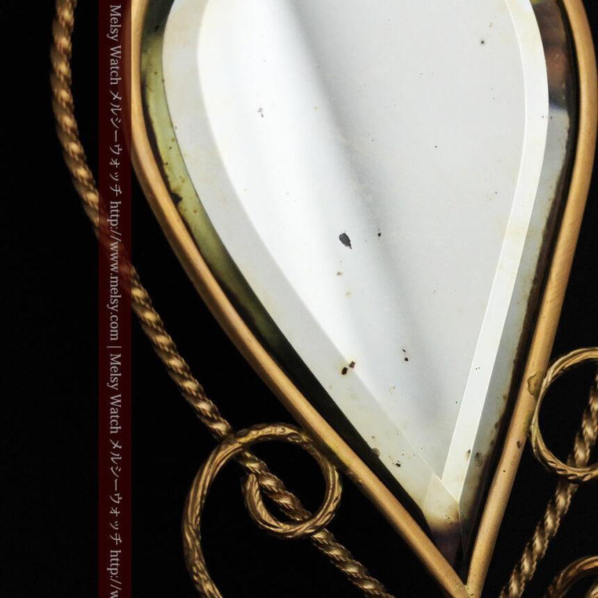 鏡とジュエリーケース付き懐中時計スタンド-S0828-18
