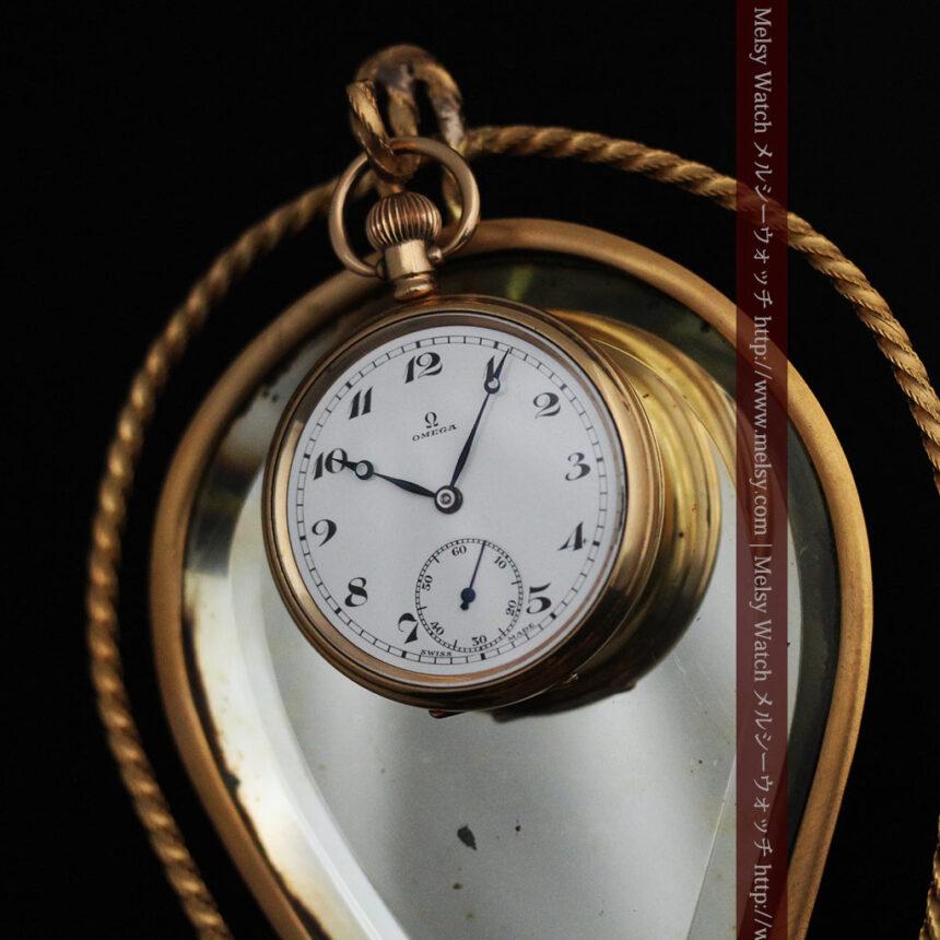 鏡とジュエリーケース付き懐中時計スタンド-S0828-8