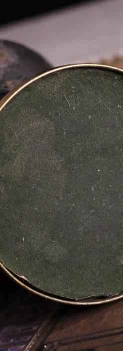 蹄鉄と馬の足を模った懐中時計用アンティークスタンド-S0841-17