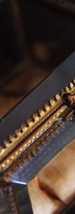 五角形の扉を持つアンティーク懐中時計収納スタンド-S0842-12