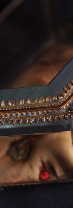 五角形の扉を持つアンティーク懐中時計収納スタンド-S0842-9