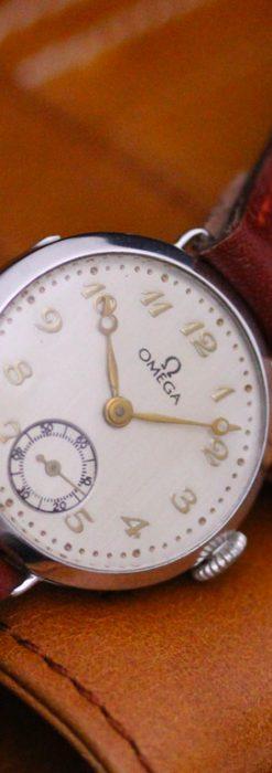 オメガの女性用アンティーク腕時計-W1119-1