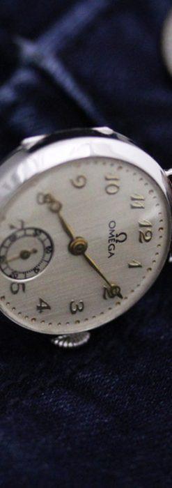 オメガの女性用アンティーク腕時計-W1119-2