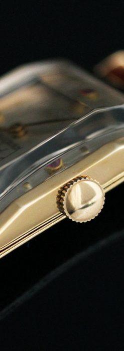 グリュエンのルビー入りアンティーク腕時計-W1099-13