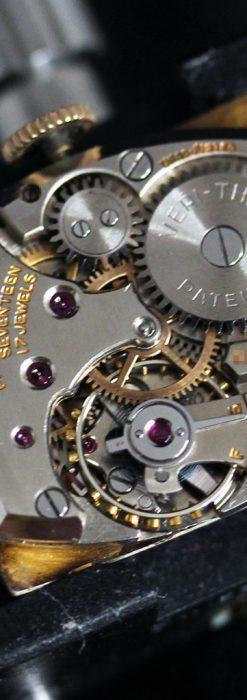 グリュエンのルビー入りアンティーク腕時計-W1099-16