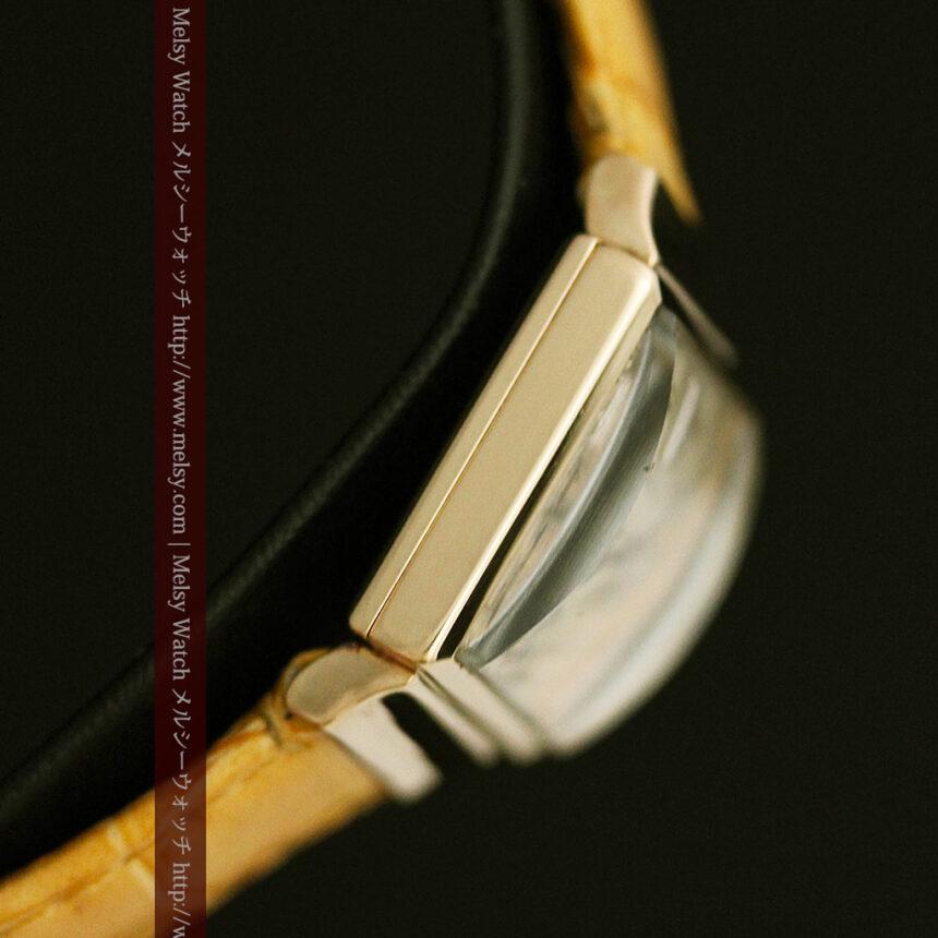 ロンジンのダイヤモンド入り金無垢アンティーク腕時計-W1130-12