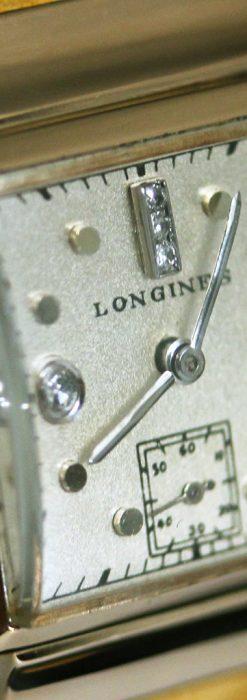 ロンジンのダイヤモンド入り金無垢アンティーク腕時計-W1130-13