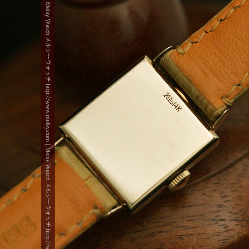 ロンジンのダイヤモンド入り金無垢アンティーク腕時計-W1130-14