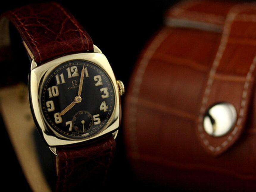 オメガのアンティーク腕時計-W1180-11