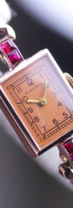 ブランパンの女性用アンティーク腕時計-W1226-2