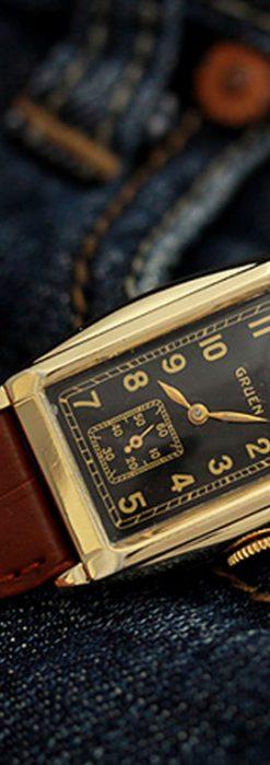 グリュエンのアンティーク腕時計-W1241-1