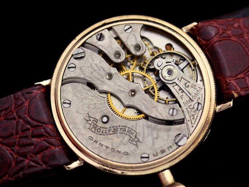 ハンプデンのアンティーク腕時計-W1260-14