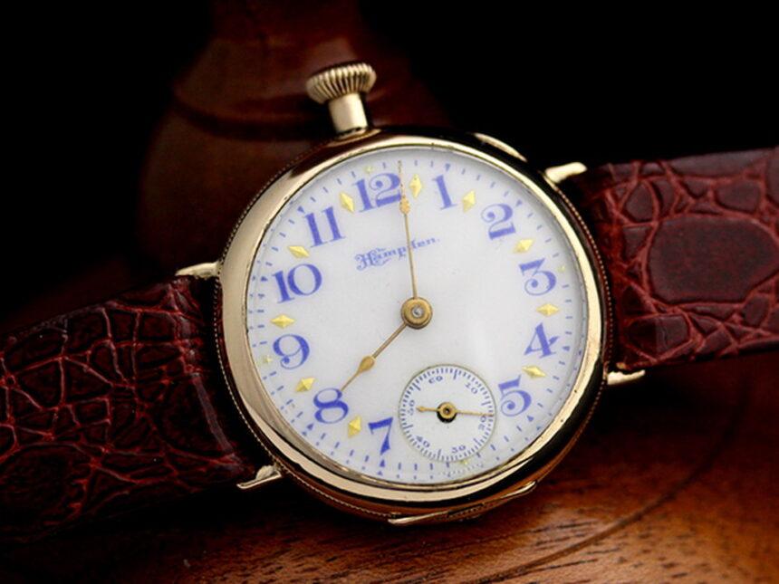 ハンプデンのアンティーク腕時計-W1260-4