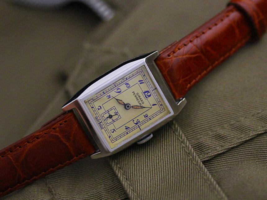 ジラールぺルゴ腕時計-W1296-1