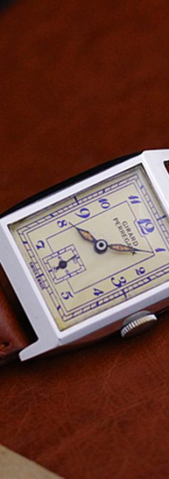 ジラールぺルゴ腕時計-W1296-9
