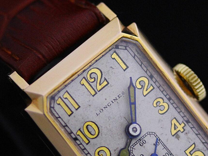 ロンジンのアンティーク腕時計-W1297-1