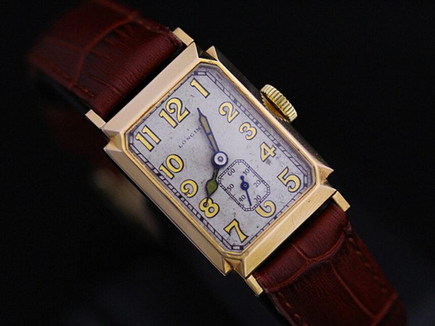 ロンジンのアンティーク腕時計-W1297-8
