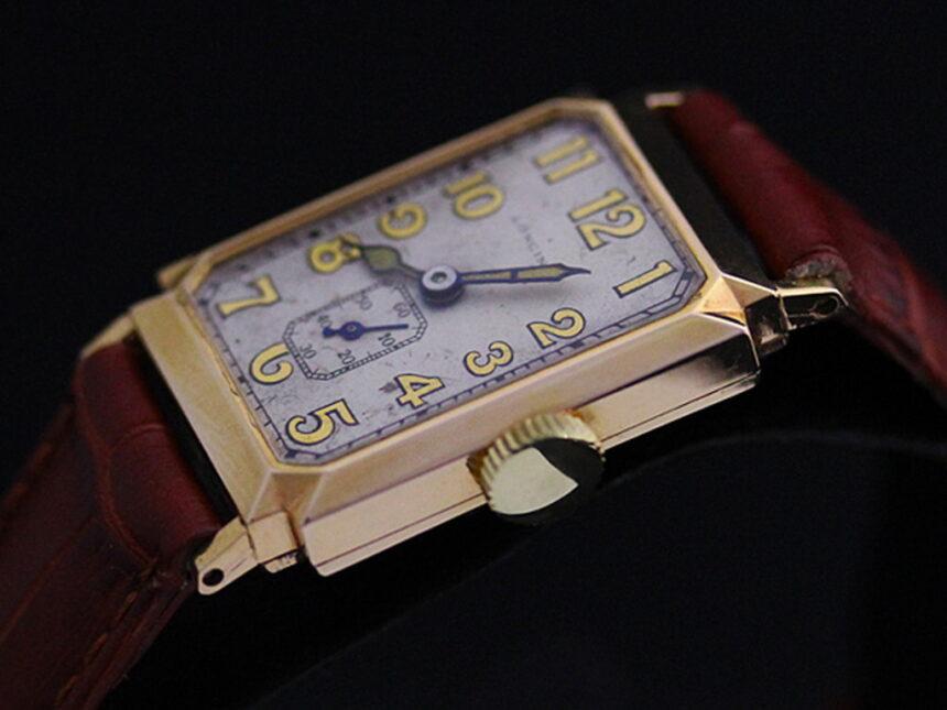 ロンジンのアンティーク腕時計-W1297-9