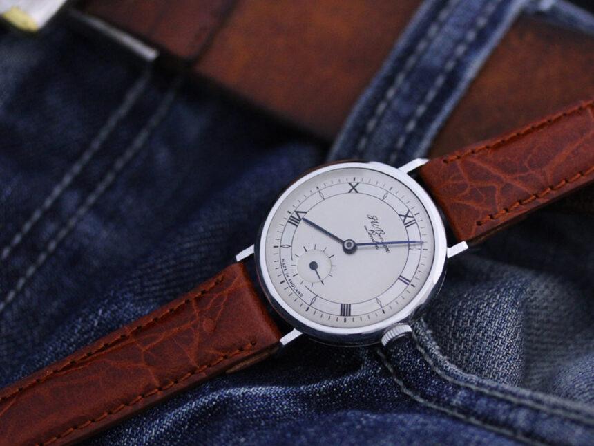 ベンソンのアンティーク腕時計-W1305-1