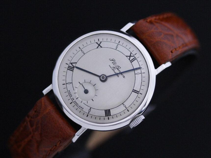 ベンソンのアンティーク腕時計-W1305-10