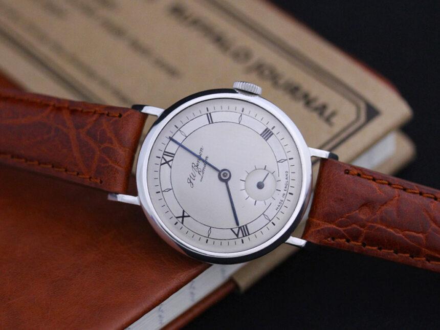 ベンソンのアンティーク腕時計-W1305-13