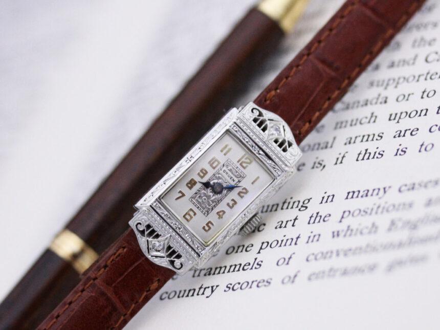グリュエン腕時計-W1361-8